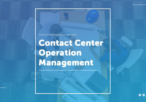 Contact Center Operation Manager