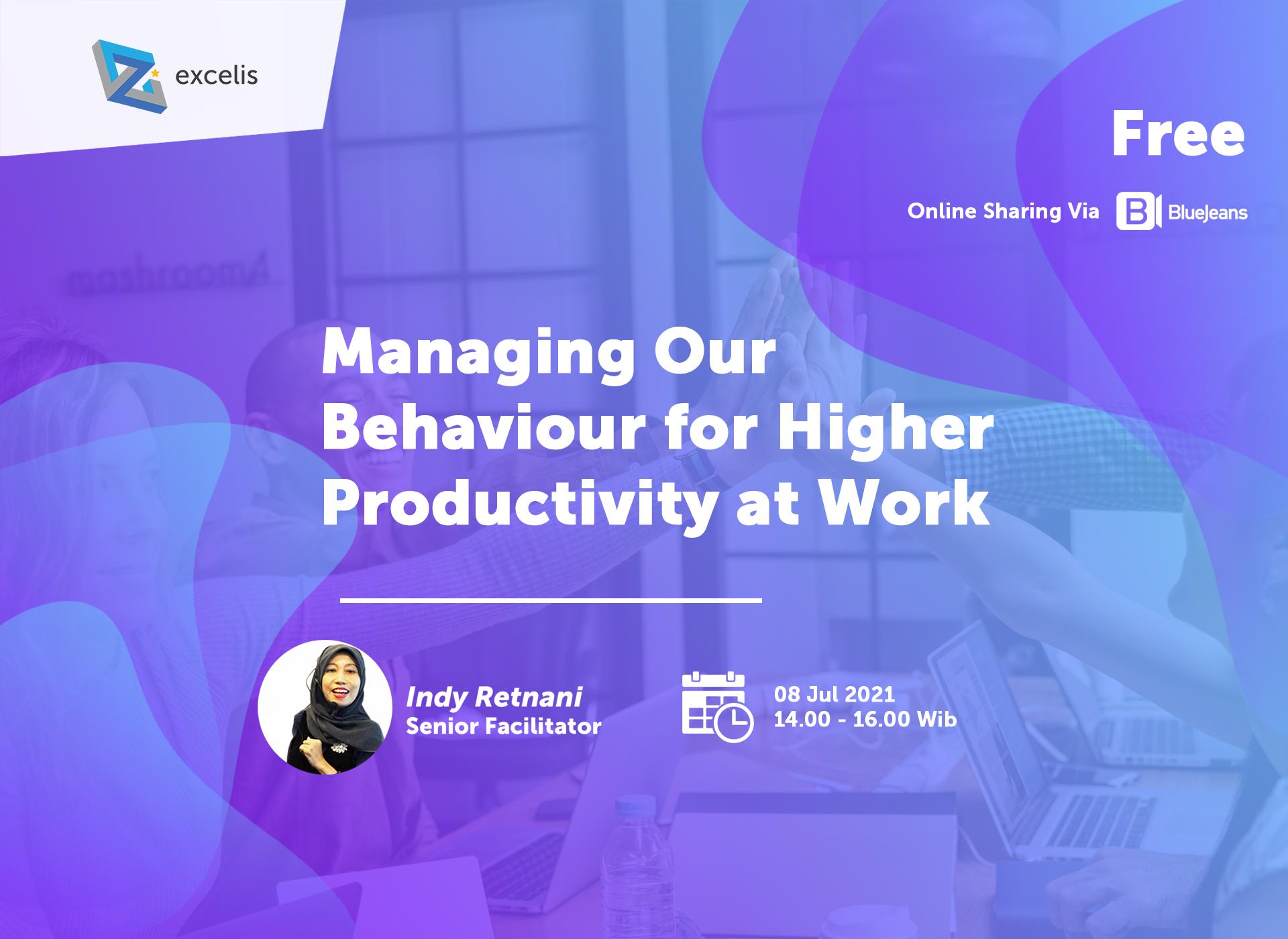 Managing Our Behavior